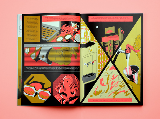 (VII) Landfill Editions, HotBox (2014), comic, written by GHXYK2, published in Mould Map 3, A4